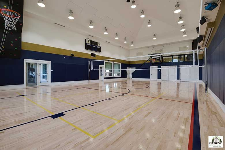 Gyms and Sports Area